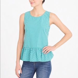 NWT J. Crew stripe sleeveless top H5024